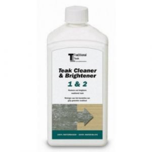 Teak Cleaner and Brightener 1&2