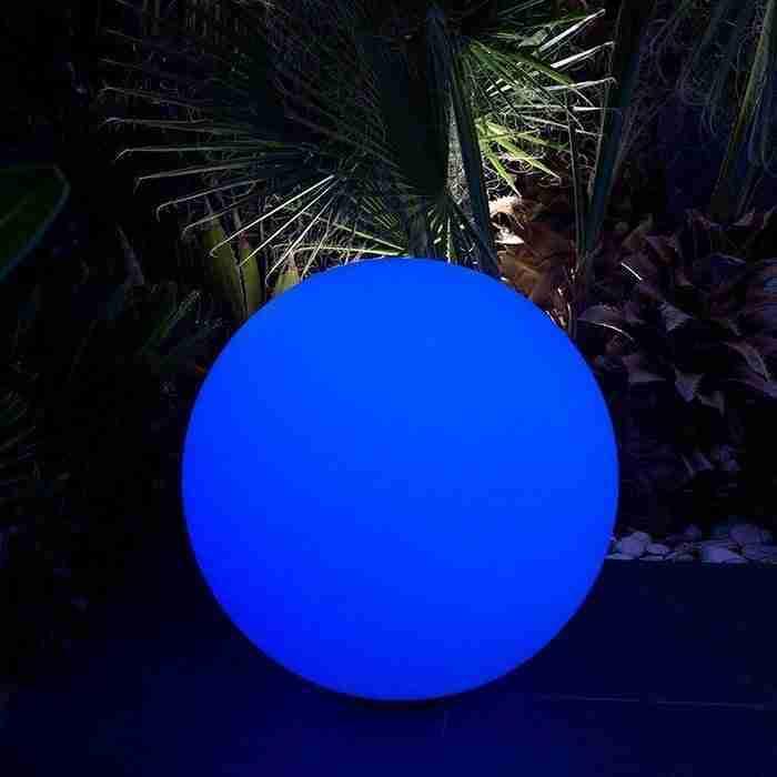Lumisky Bobby LED Bollamp 7 kleuren RGB met afstandsbediening + draadloos