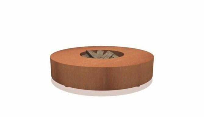 Vuurtafel rond (1250 - 1750mm)