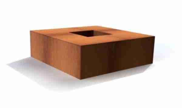 Vuurtafel vierkant (1200x1200 - 1400x1400mm)