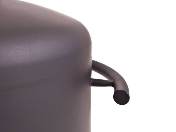 Stofey XL RVS buitenhaard zwart/antraciet