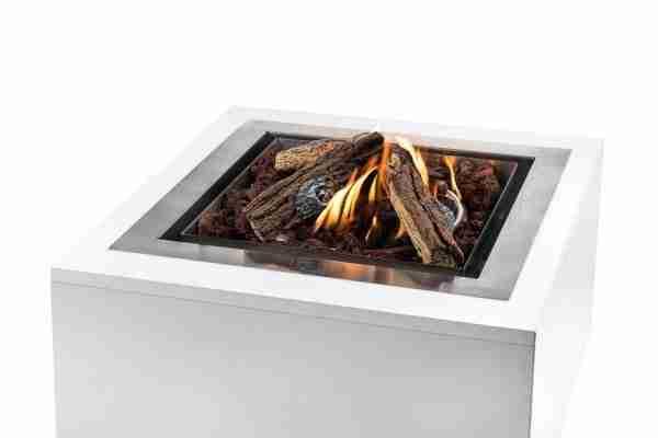 Cocoon Table Inbouwbrander Vierkant Groot