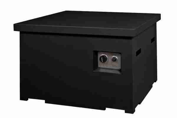 Cocoon Table Vierkant Zwart