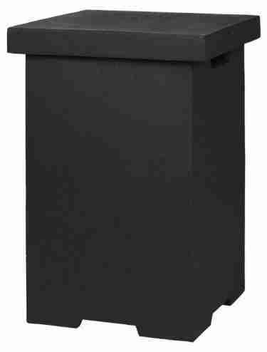 Enclosure (bijzettafel) LPG Zwart