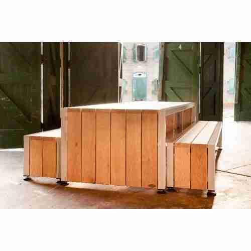 Robustus tafel 3000x1000x750 Groot