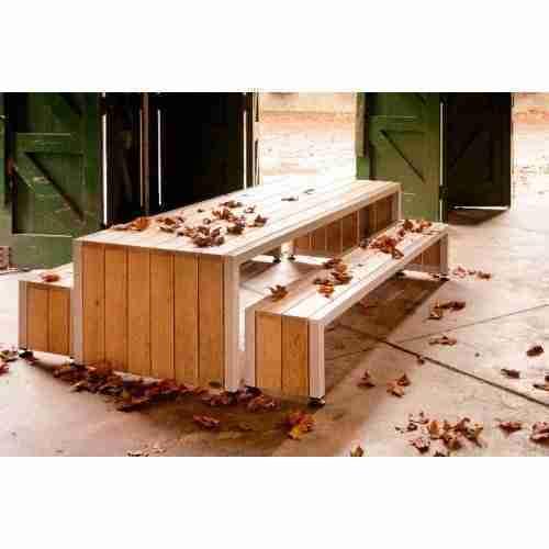 Robustus tafel 2800x1000x750 Klein