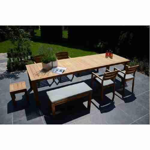 Maxima tuinbank zonder rugleuning (100 & 180 cm)