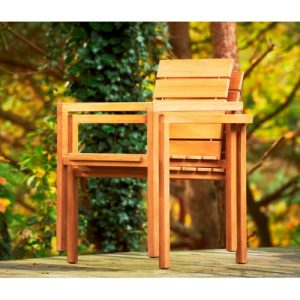 Maxima stapelbare stoel
