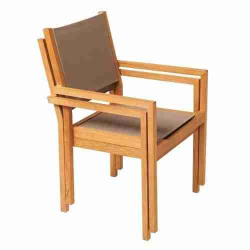 Kate stapelbare stoel