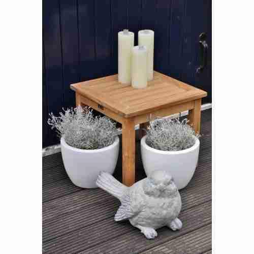 Sisi bijzet tafel (40x40 & 50x50 cm)