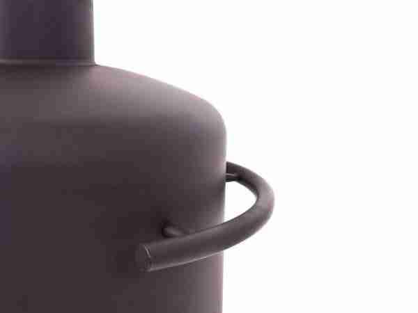 Stofey XL+ RVS buitenhaard zwart/antraciet