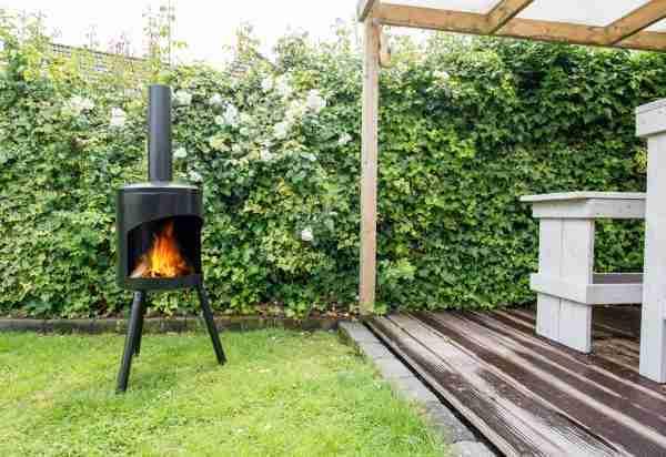 Potkachel large zwart Home and Garden nu bij Zitteninjetuin.nl