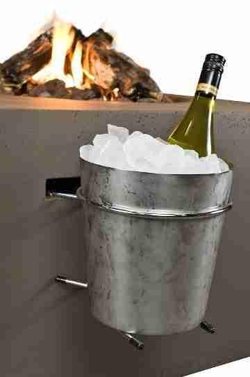 Wijnkoeler Cocoon vuurtafel Zitteninjetuin 1