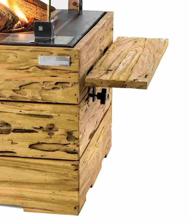 Driftwood Teak Table: Teakhouten Side Table Driftwood