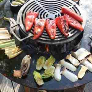 Buiten koken met Top Producten